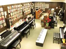 スガナミ楽器経堂店/グランドピアノサロン