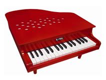 ミニピアノ P-32 (赤)