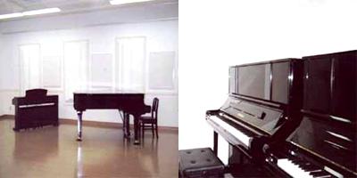 学校音楽室・ピアノ演習室