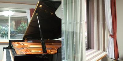 グランドピアノのための音楽室(10畳)