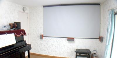 ピアノレッスン・アンサンブル・ホームシアターのための防音室