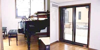 ピアノのための防音室(5.7畳)