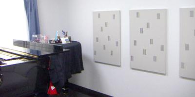 グランドピアノのための防音室(10畳)