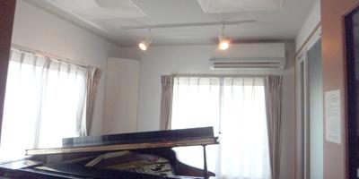 バイオリンとピアノのための防音室・音場工事