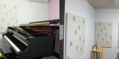 ピアノのための防音室(マンション)
