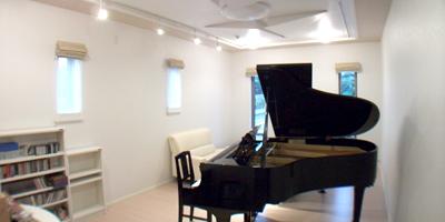 ピアノのための音楽室・音響工事