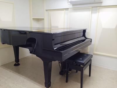 グランドピアノのお部屋もご用意