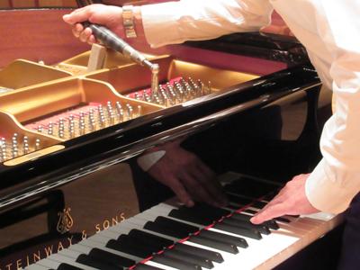 ピアノのメンテナンス承ります