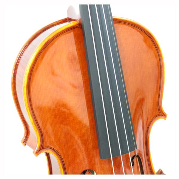 新作イタリアバイオリン Plamen Edrev木目アップ