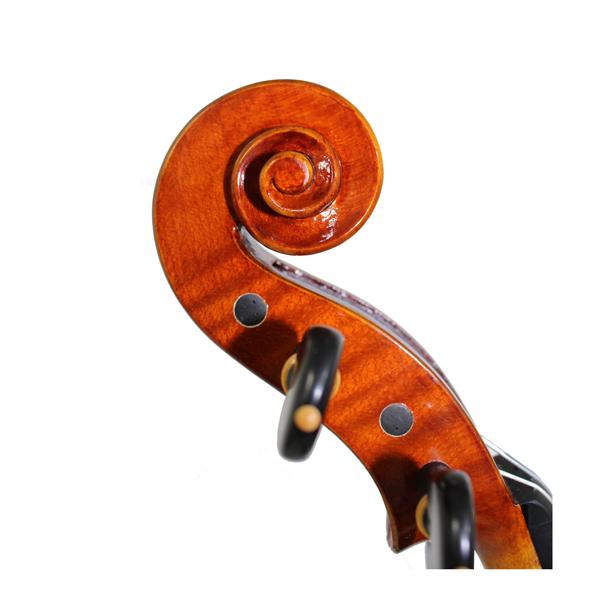 新作イタリアバイオリン Plamen Edrevスクロール
