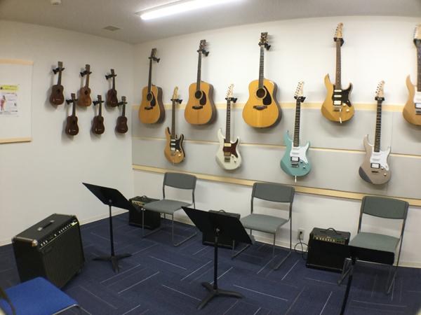 ギター部屋