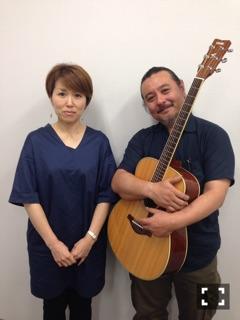 ギター 久保 純一先生 ボーカル 日外 佳江