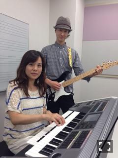 ギター 濱中 俊輔 エレクトーン 小林 美千子