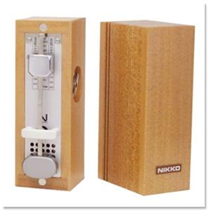 ニッコー 木製ミニメトロノーム Wood mini