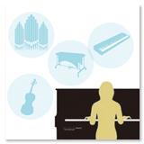 豊富な音色で多彩な演奏が可能
