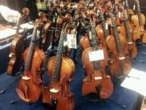 新作イタリアバイオリン 試奏