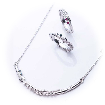 Y.L.Song Jewelry Collection フルートをモチーフにしたジュエリー