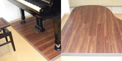 グランドピアノの防音対策(マンション階下への対策)