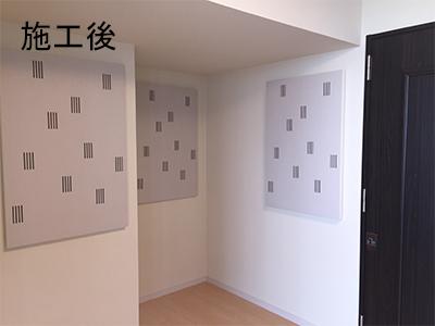 チェロとピアノの為の防音室(新築マンション)2