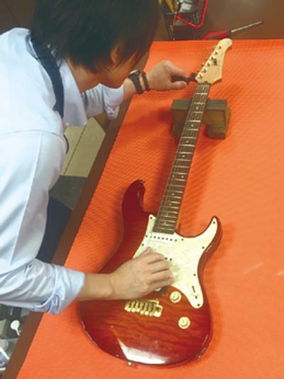 ギター・ベース調整会、お手入れメンテナンス講習会
