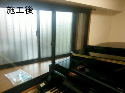 グランドピアノ1台のための防音室(マンション)4