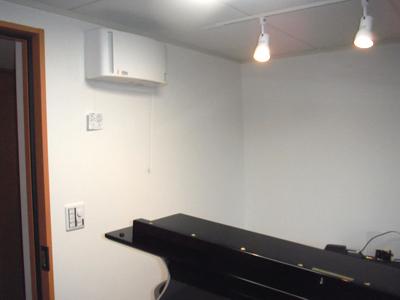 グランドピアノ1台のための防音室(マンション)3