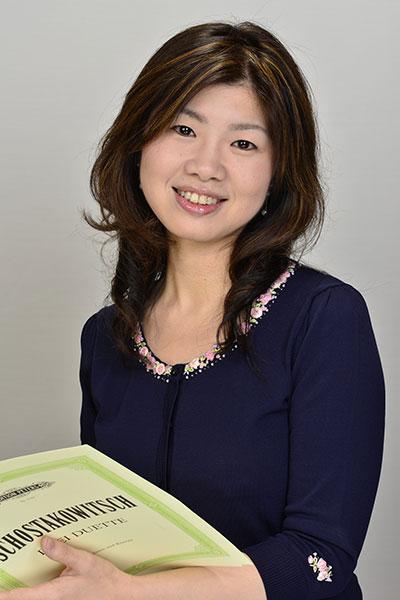 ヤマハピアノデモンストレーター河野 香寿美