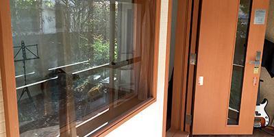 木造住宅ドラムセット演奏の為の防音室