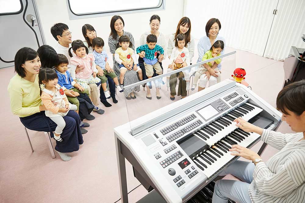スガナミ楽器麻布センターヤマハ音楽教室ぷっぷるくらぶドレミらんど