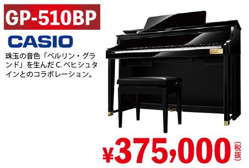 CASIO CELVIANO Grand hybri GP-510BPが375,000円(税別)