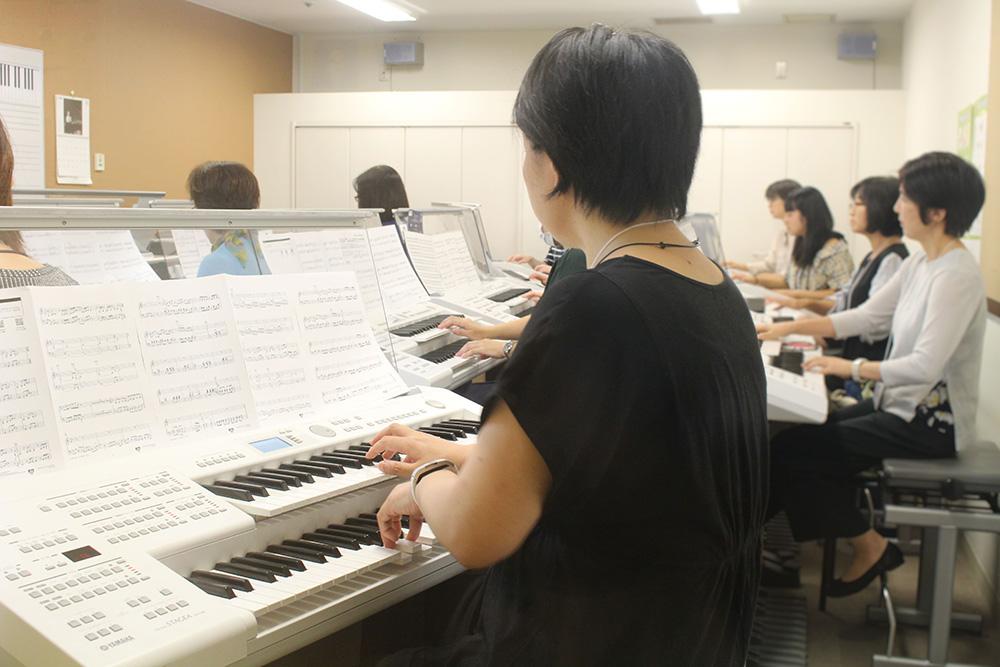 練習 2018年11月事前練習の様子 会場:スガナミミュージックサロン経堂