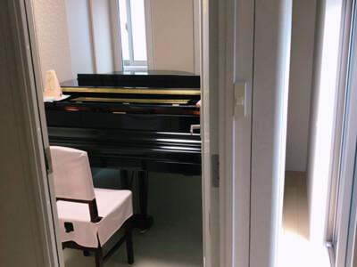 お引越し!防音室とグランドピアノを移設